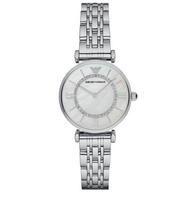 Emporio Armani_ silver Classic Quartz Women's Watch. AR1908
