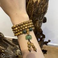 Jade Lotus 108 mala beads bracelet – classic