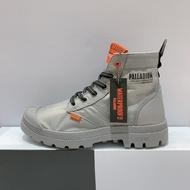 PALLADIUM PAMPA LITE+VAPOR WP+ 男女款 灰色 防水 輕量 雨鞋 高筒靴 76194-011