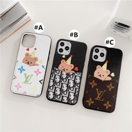 Apple Case iPhone 12 Pro Max Soft case iphone12 mini covers iphone12promax cover 12mini Card package bear