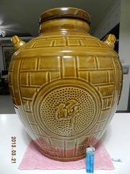大酒甕 酒缸 陶瓷缸 陶瓷甕 古董 擺飾