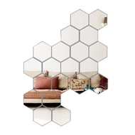 [fol] Free Joint Mirror Wall Stickers Mirror Wall Stickers Mirror Surface Sticker
