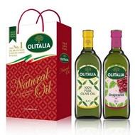 Olitalia奧利塔 純橄欖油+葡萄籽油禮盒組 1000mlx2瓶
