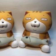 白爛貓 存錢筒 禮物 玩具