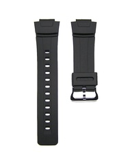 16mm TIMEWHEEL Replacement Black Watch Band Strap fits Casio G Shock G100 G101 G2110 G2300 G2400 & More