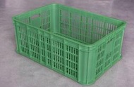 四格搬運箱615*420*240mm-塑膠籃 塑膠箱 儲運箱 搬運籃 工具箱 收納箱 零件箱 物流箱【富晴塑膠】