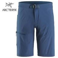 【ARCTERYX 始祖鳥 加拿大】Lefroy 快乾短褲 休閒短褲 運動短褲 男款 拉冬藍 (L07522600)