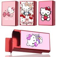 Kitty煙盒女生煙盒 細煙盒 卡通印花煙盒 迷你煙盒 造型煙盒超薄女生細支凱蒂貓煙盒