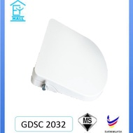 Built In Bidet Spray Toilet Seat Cover GDSC 2032 Suitable To All Toilet Bowl (Tempat duduk tandas)