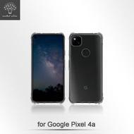 Metal-Slim Google Pixel 4a 軍規 防撞氣墊TPU 手機保護套 5.8吋 4G版