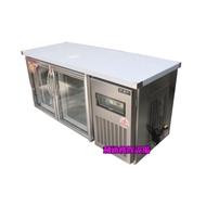 《利通餐飲設備》(瑞興)玻璃門 5尺工作台冰箱 風冷五尺全冷藏工作台冰箱
