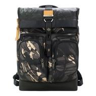 TUMI  ALPHA BRAVO BRAVO尼龍雙口袋迷彩後背包(適用15吋筆電)-灰