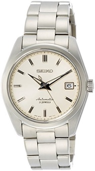 Seiko Men s Japanese-Automatic Watch with Stainless-Steel Strap, Silver, 20 (Model: SARB035)