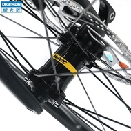 潮流 百搭競賽公路自行車碟剎公路UCI認證碳纖維前叉SORA r btwin