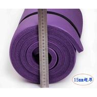 瑜伽墊100 20mm厚加厚加寬加長初學者女防滑健身膠墊微瑕疵