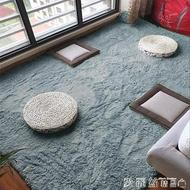 北歐地毯羊毛地墊家用小地毯加厚長毛客廳爬行墊榻榻米臥室床邊毯滿鋪 愛麗絲LX