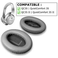 真皮耳罩適用QC35 QC35 II BOSE 耳機 QuietComfort 35 II 降噪耳機 耳墊 替換耳罩專用