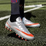 36-44 รองเท้าฟุตบอลชายผู้หญิงกลางแจ้ง TF รองเท้าผ้าใบออกกำลังกายผู้ใหญ่เด็กฟุตบอลมืออาชีพรองเท้า