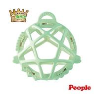 【總代理直送】日本製 People-彩色米的洞洞球玩具(柔軟)(米製品玩具系列/咬舔玩具/固齒器/新生禮)