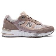 New Balance 復古鞋 W991LGSB 女性 灰粉紅