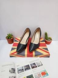 1.  รองเท้าแฟชั่นสตรีส้นสูง ส้น3นิ้ว แบบปิดหัว##ส้นแหลม#คัชชู