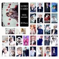 Youpop KPOP BTS Bangtan Boys WINGS JIMIN Photo Album LOMO Cards Self Made Paper Card HD Photocard LK431 - intl