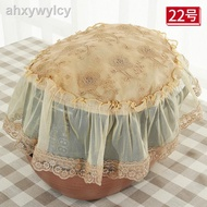 Rice Cooker Cover Towel Lace Rice Pot Cover Simple Round Rice Cooker Cover