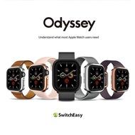 蘋果Apple Watch(4、5)手錶殼 40mm/44mm 金屬保護殼 #奧德賽 #Switcheasy