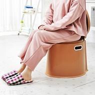 馬桶 加厚加高可行動馬桶成人孕婦便攜尿盆老人坐便器座便器塑料痰盂 MKS韓菲兒