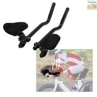 🏆WinnerYou Bike Rest Handlebar Cycling Aero Bar Bicycle Relaxation Handle Bar Triathlon MTB Road Bike Arm Rest Bar Bike Aerobar