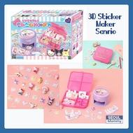 We Dream] 3D Bling-Bling Sticker Maker Sanrio [Korea children Sticker maker]
