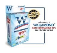 Wakamono | Khẩu Trang Anti coronavirus 99%
