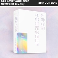 BTS World Tour 'LOVE YOUR SELF' NEWYORK Blu-ray 2Discs+Photobook+Photocard+Etc