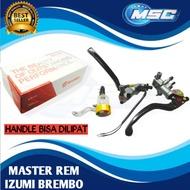 Izumi Brembo Brake Master Set Left And Right Brake Clutch
