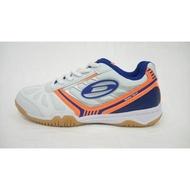 [大自在體育用品] DONIC 桌球鞋 Waldnerflex 尺碼32~47 彈性包覆移動 橘白 3102077