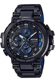 Casio G-Shock นาฬิกาข้อมือผู้ชาย สายสแตนเลส รุ่น MTG-B1000BDMTG-B1000BD-1A  - สีดำ