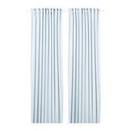HANNALILL 窗簾 2件裝, 藍色
