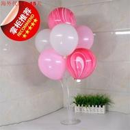 氣球展b示架插便攜街賣展示架子氣球樹展架道具樹立柱起球業