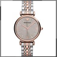 【HOT】Original Women Ladies Emporio Armani Gold Steel Watch AR1840