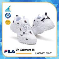 FILA รองเท้าผ้าใบ รองเท้าแฟชั่น รองเท้า รองเท้า Fila UX Oakmont TR 1JM00801 WHT (2990)