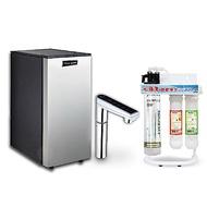 Gleamous K800雙溫廚下加熱器(觸控式)+水蘋果BH2便捷式三道淨水器
