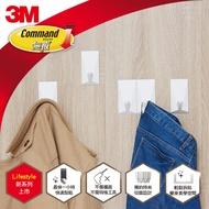 3M 無痕LIFESTYLE系列-組合式排鉤-五鉤組(白)