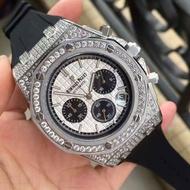 #AP手錶 時尚手錶 愛彼手錶 鑲鑽手錶 氣質 休閒 個性手錶 百搭 腕錶 潮流手錶 畢業禮物 商務男士高檔手錶 男士手