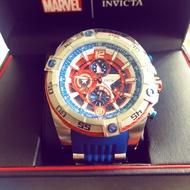 Invicta 漫威 Marvel 美國隊長 機械錶 經典配色 全球限量4000隻 全新