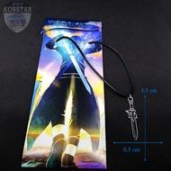Kalung Pedang Eluchidator Kirito - Anime Sword Art Online