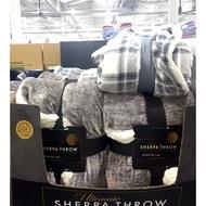 [柴窩] Life Comfort 厚絨保暖隨意毯 / 舒適毯 152 x 177 公分 好市多 代購
