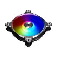 【LIAN LI 聯力】Bora Digital RGB 風扇 - 灰框_速(BORA DIGITAL 3RG)