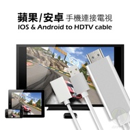 [滿千免運] 三用手機電視轉接線 台灣公司附發票 安卓蘋果手機可用 HDMI轉USB不用MHL功能【VM004】URS