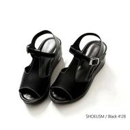 4128 #รองเท้าคัชชูดำ #คัชชูดำ