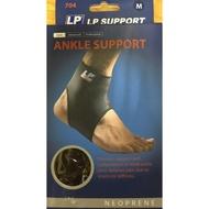 免運 LP ANKLE SUPPORT 704標準型護環/踝部保護(黑色/單支裝)
